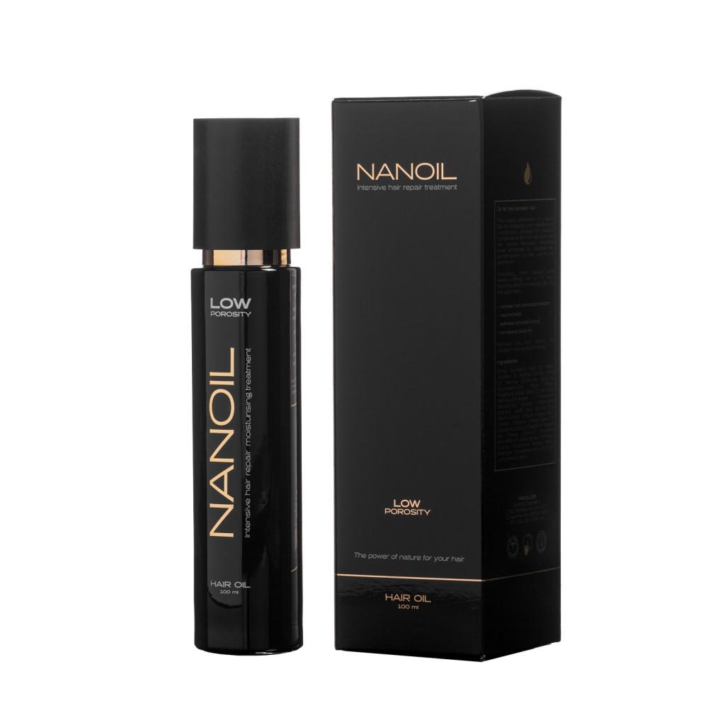 Włosy niskoporowate Nanoil